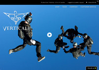 Advertisement for Vertical Freefly Suits Shot by Scottsdale Photographer Craig Amrine